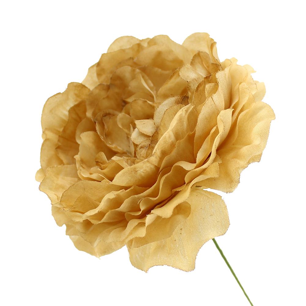 Flor Ana 9 cm dorado