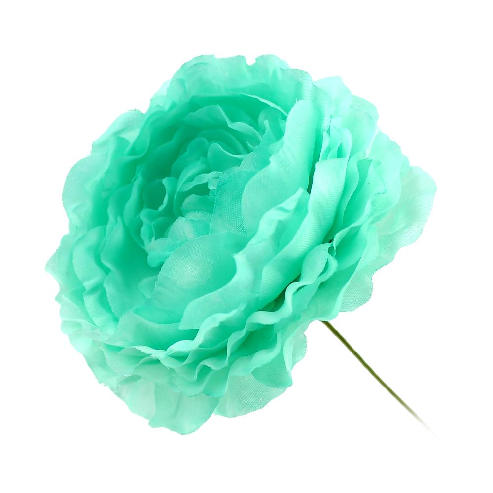 Flor Ana 9 cm verde agua