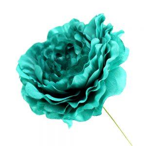 Flor Ana 9 cm verde mar