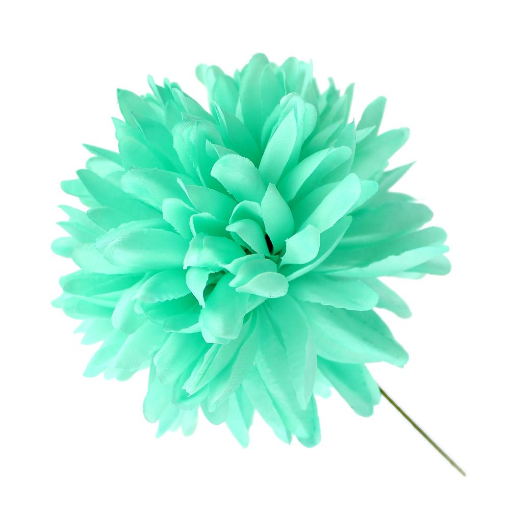 Flor Elsa 12 cm verde agua