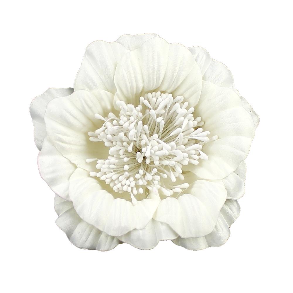 Flor Elvira blanco