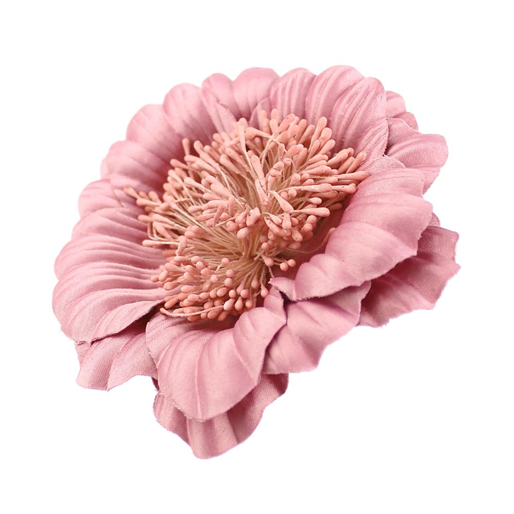 Flor Elvira rosa nude oscuro