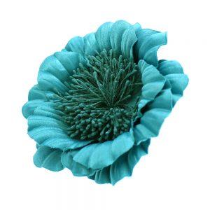 Flor Elvira verde mar