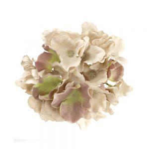 Flor Hortensia beige