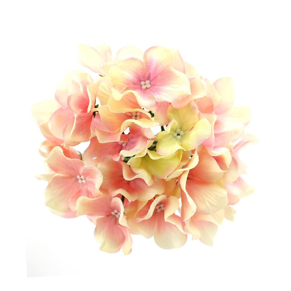 Flor Hortensia rosa