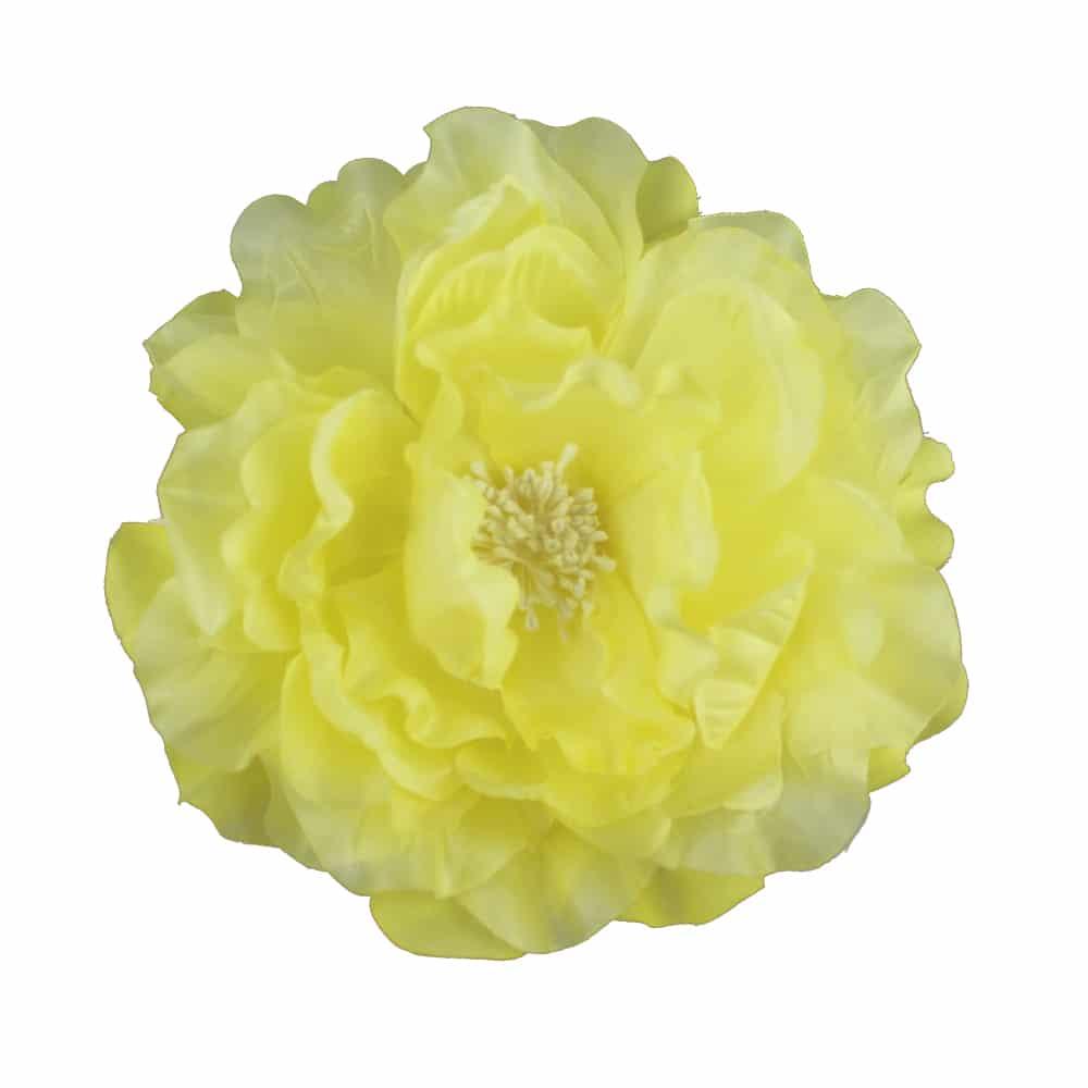 Flor Lucía 16 cm amarillo