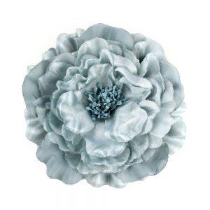 Flor Lucía 16 cm gris