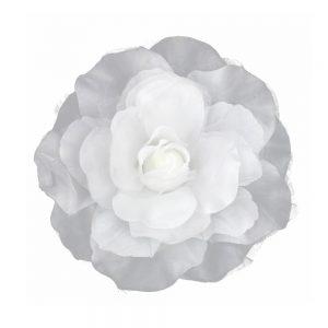 Flor Micaela 16 cm blanco