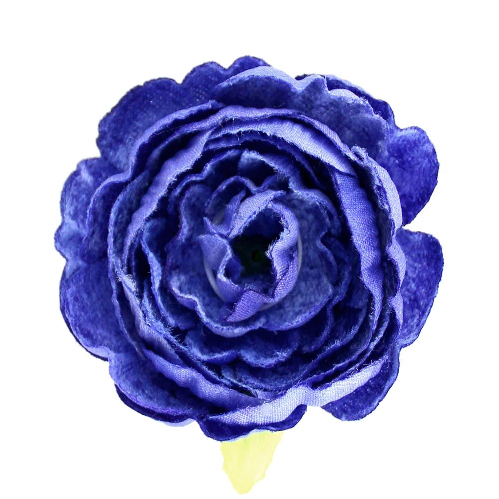 Flor Noel 7 cm azul klein