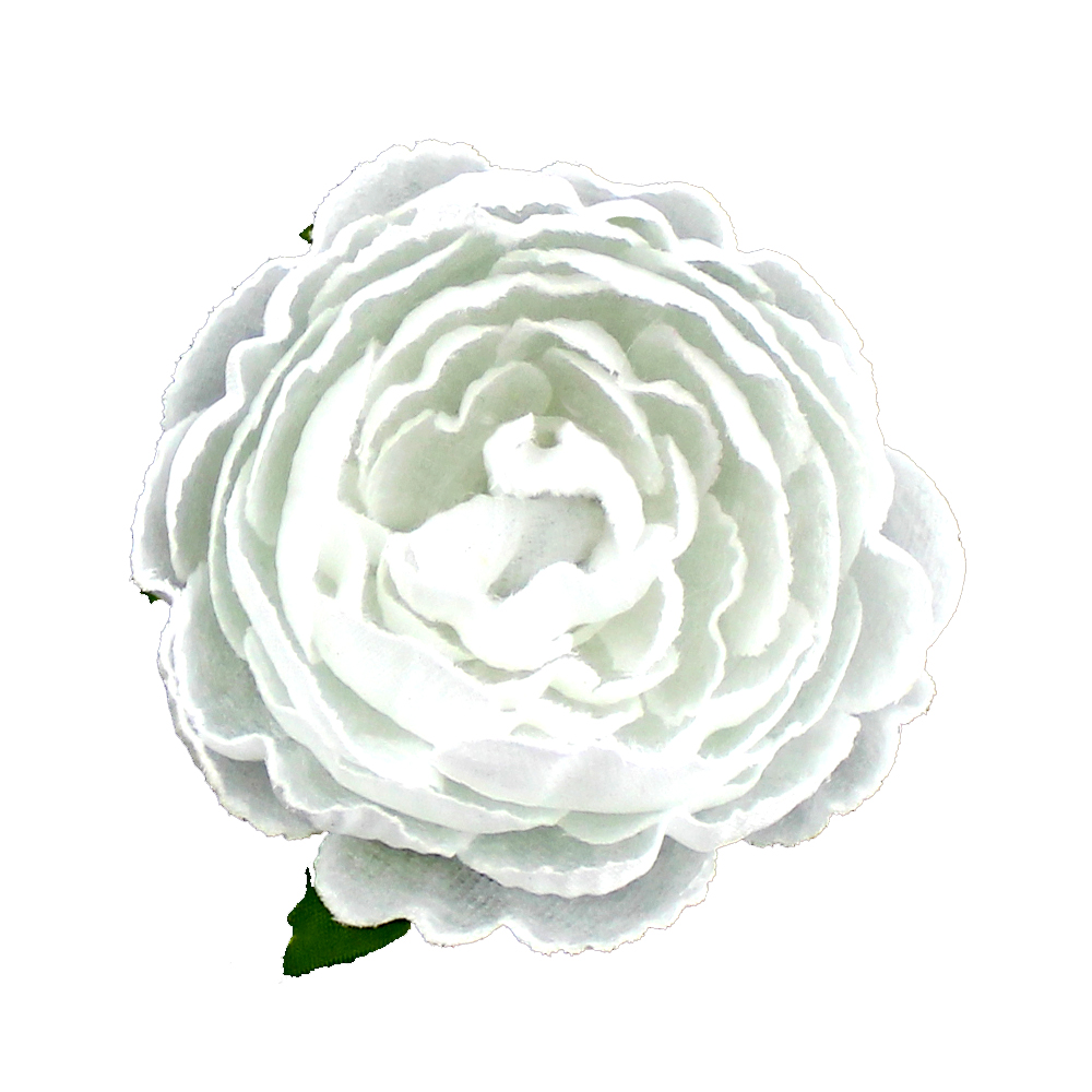 Flor Noel 7 cm blanco