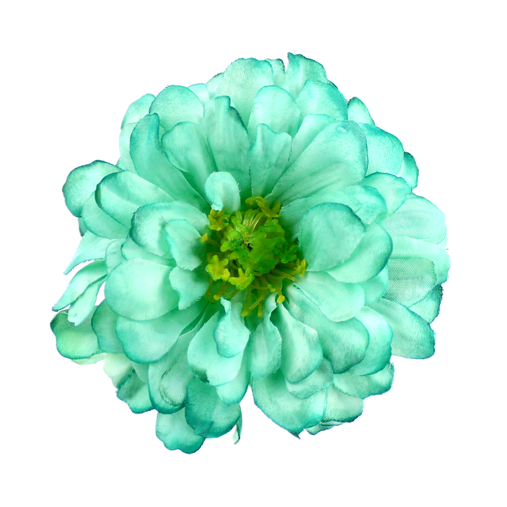Flor Sabela 10 cm verde agua