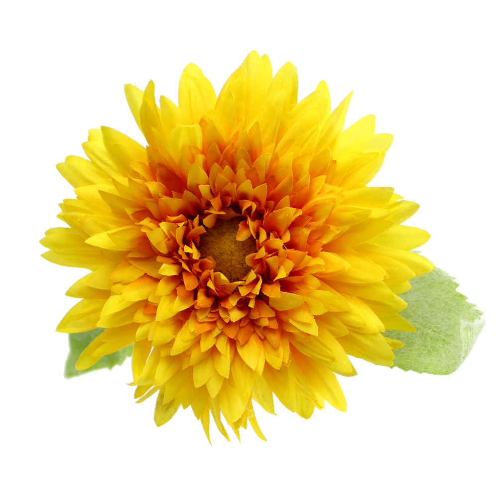 Flor Scarlet 11-14cm amarillo