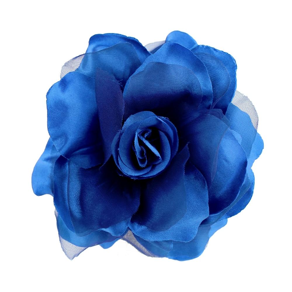 Flor Teresa 15 cm azul klein