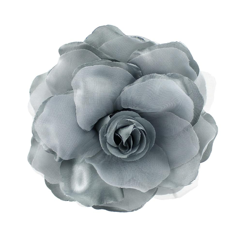 Flor Teresa 15 cm gris