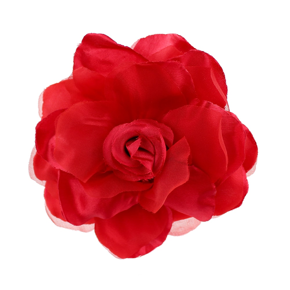 Flor Teresa 15 cm rojo