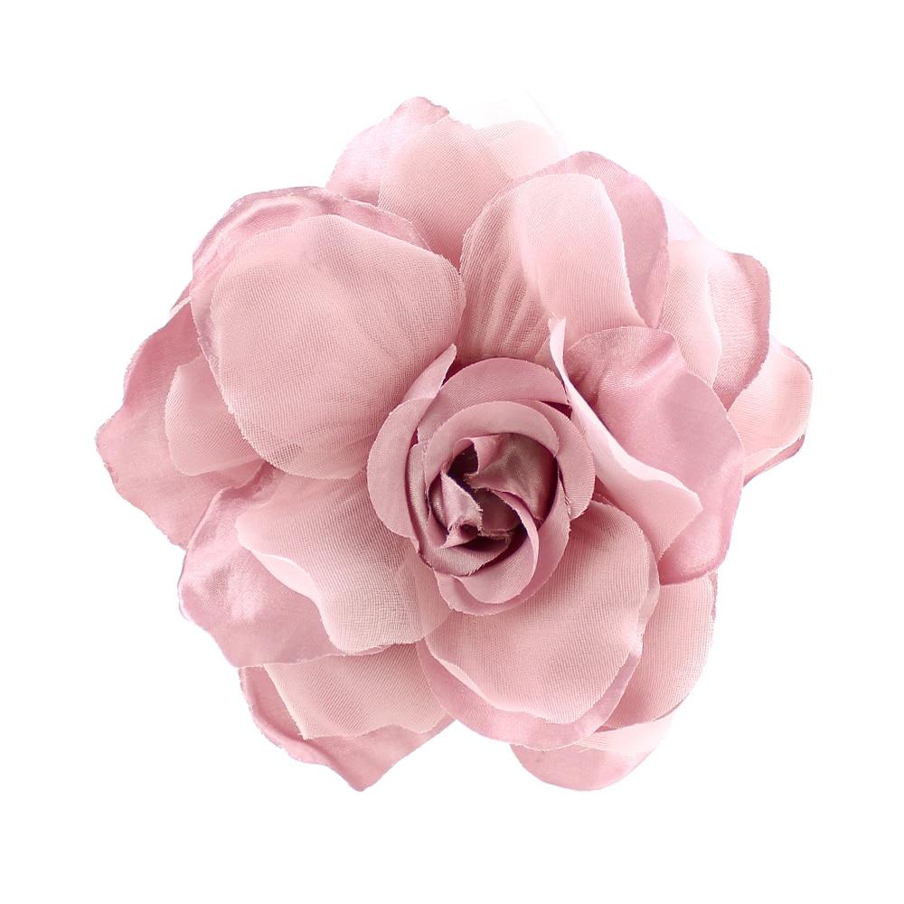 Flor Teresa 15 cm rosa maquillaje