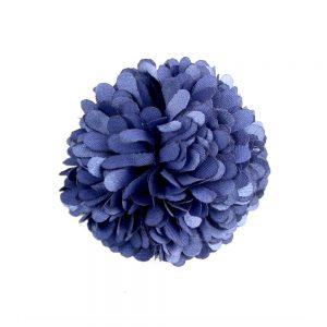 Flor clavel 6 cm azul