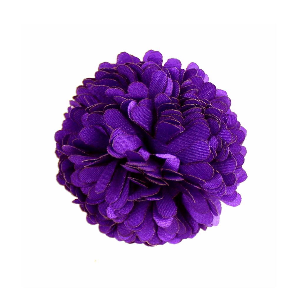 Flor clavel 6 cm morado