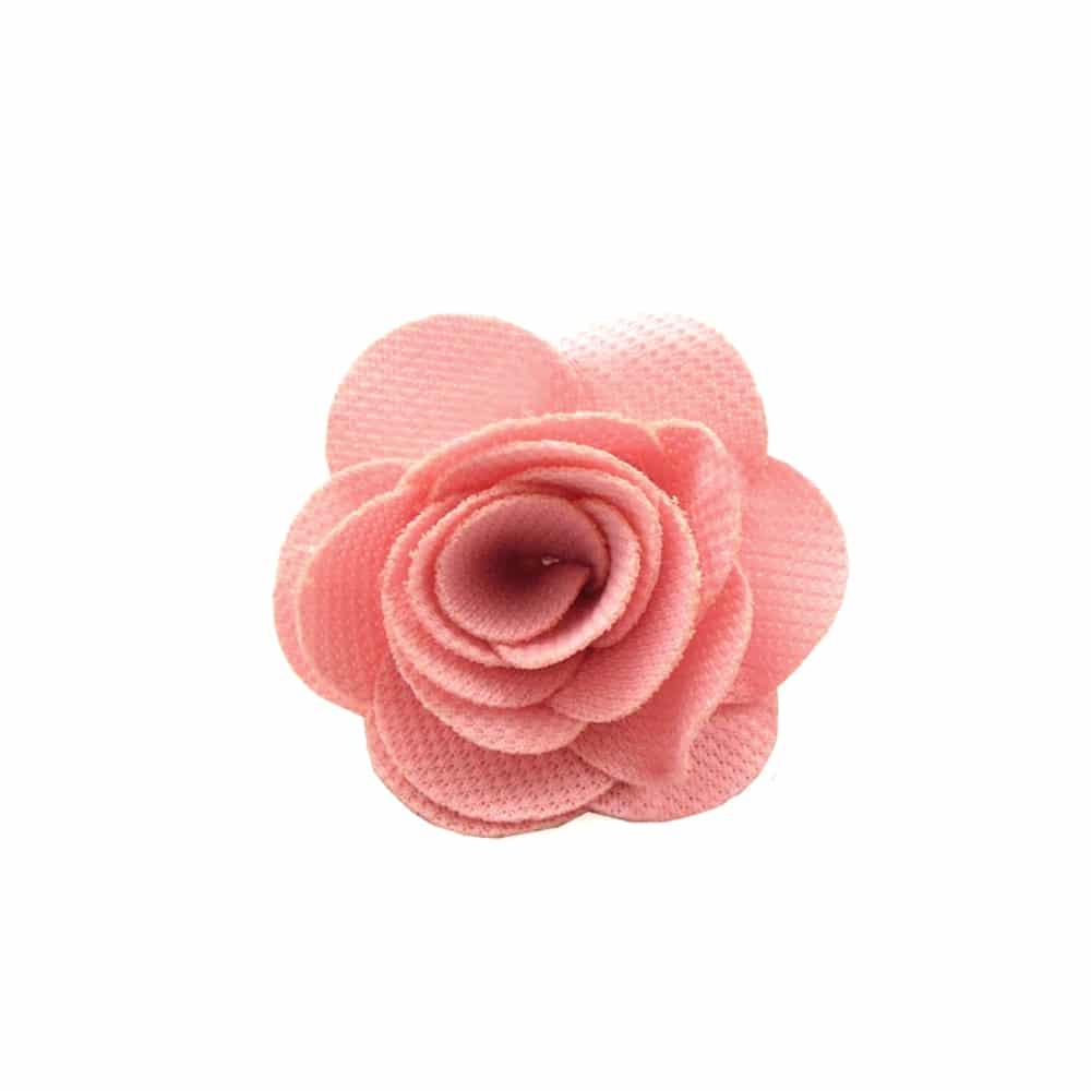Flor pique 6 CM rosa palo