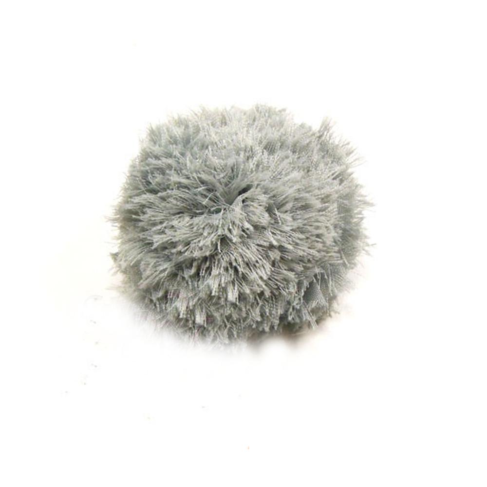 Florecilla 6 cm gris