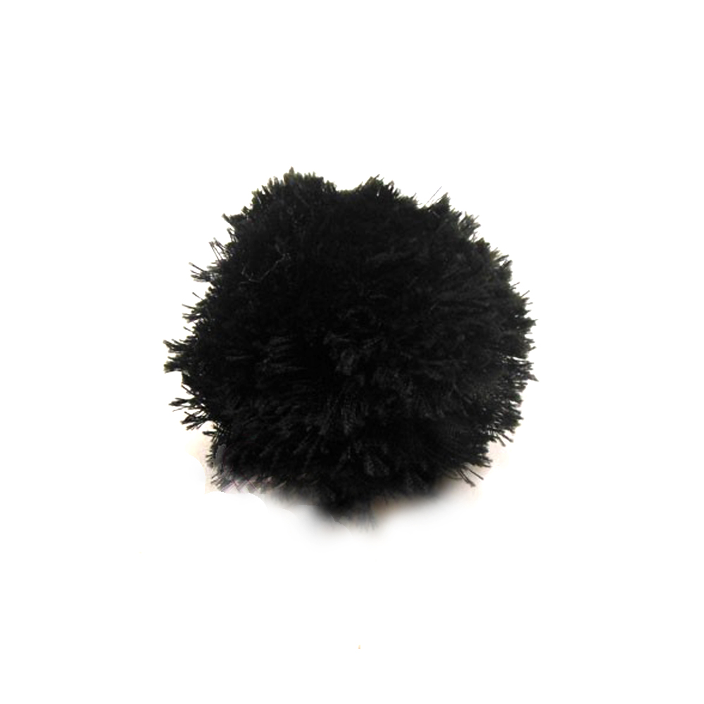 Florecilla 6 cm negro