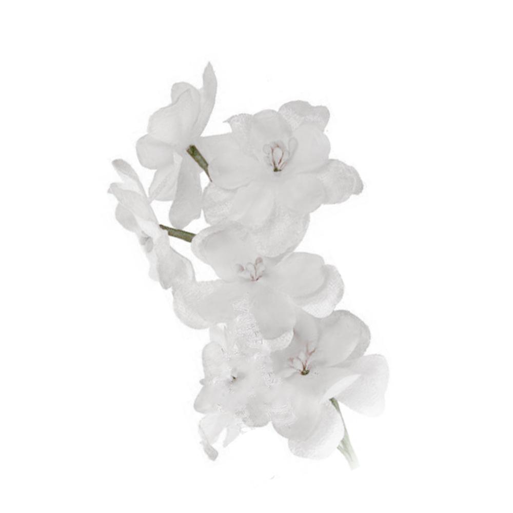 Florecillas de terciopelo color blanco