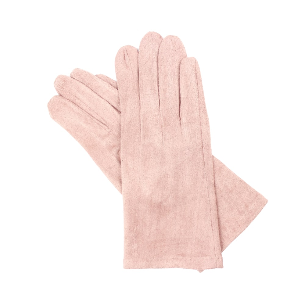 GUANTES CORTOS ANTELINA rosa nude