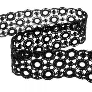 Guipur 3 5 cm negro II