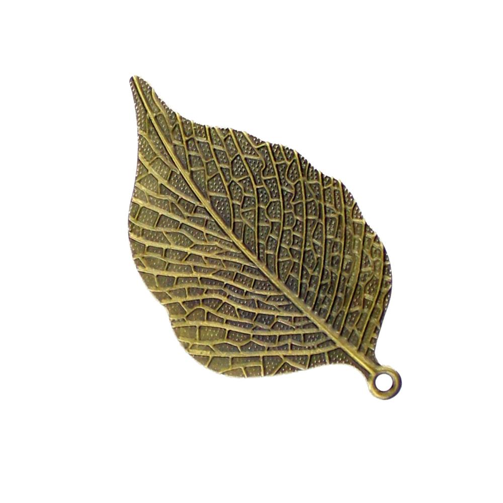 Hoja de latón de 6 5×3 5 cm oro viejo