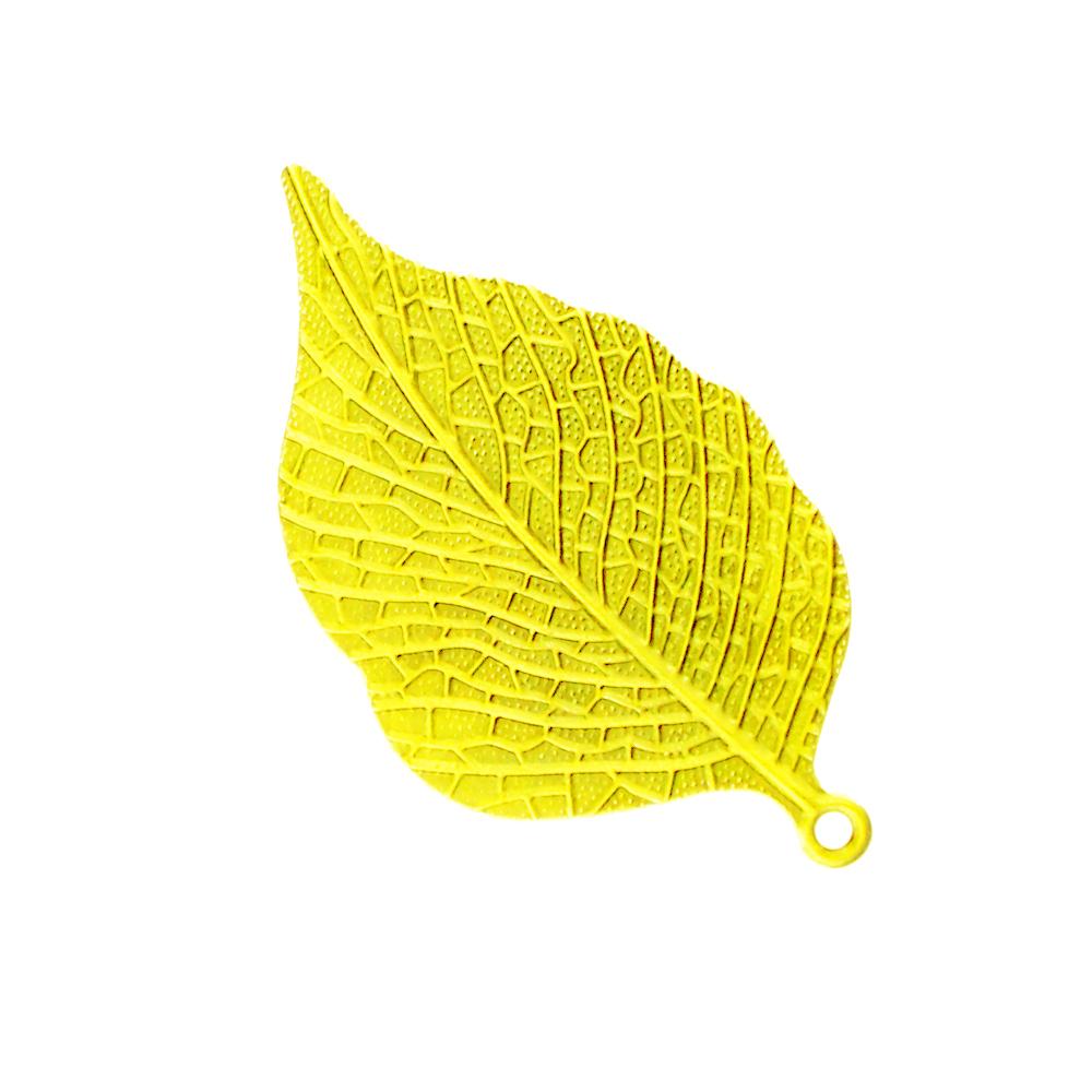 Hoja de latón de 6 5×3 5 cm oro