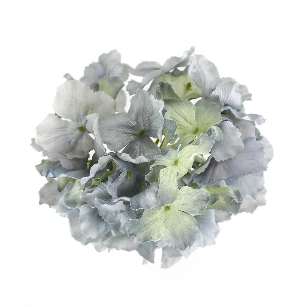 Hortensia Rizada gris medio