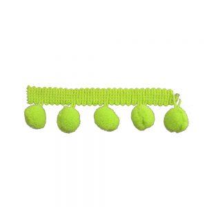 Madroño poliamida 1 5 cm verde limón