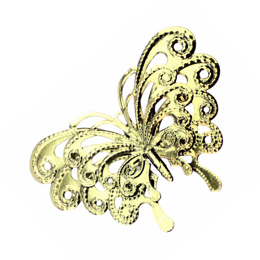 Mariposa de latón 85×60 mm