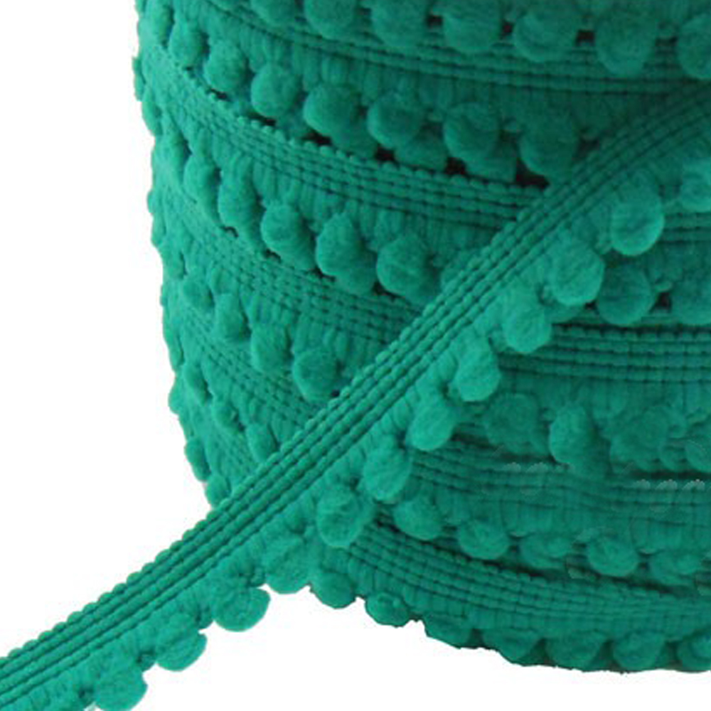 Merceria borlas pequeñas 1 2 CM jade