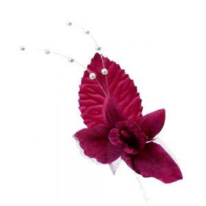 Mini Orquídea granate