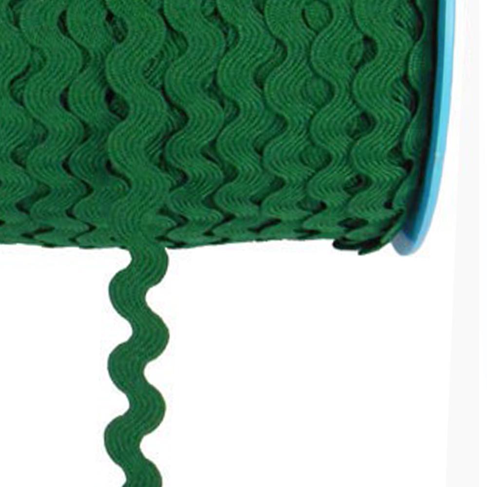 Ondulina Poliéster 1 CM verde botella