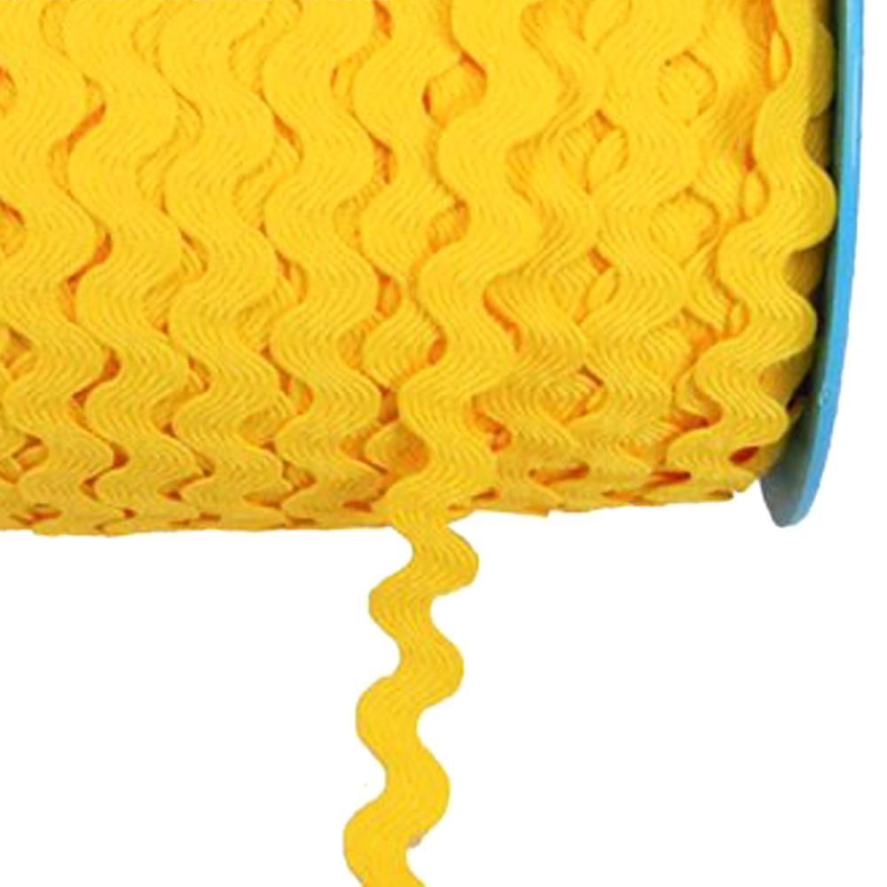 Ondulina poliester 0 5 CM amarillo