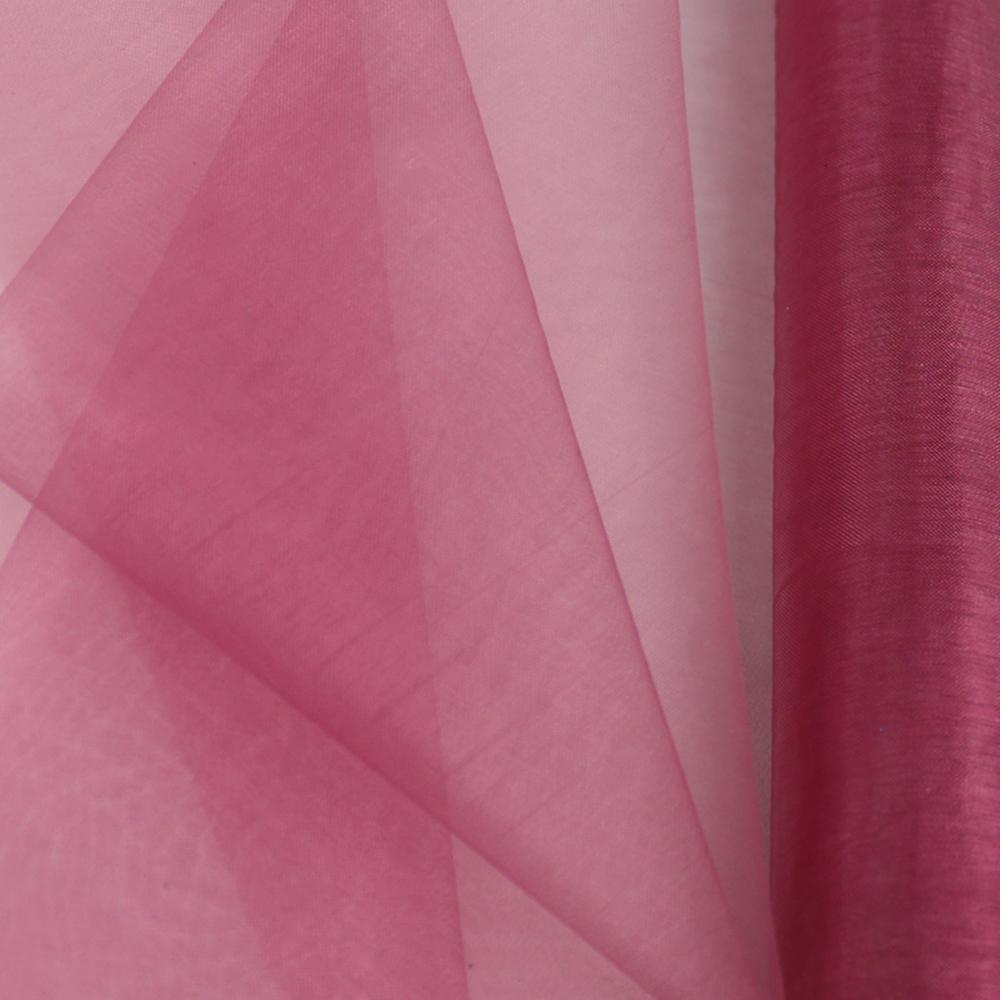 Organza mate lisa 48 cm rosa nude oscuro