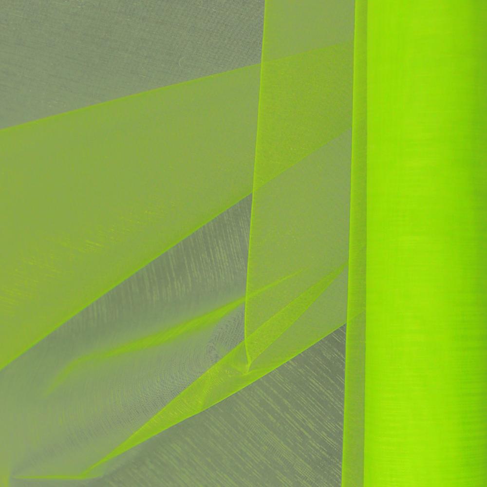 Organza mate lisa 48 cm verde