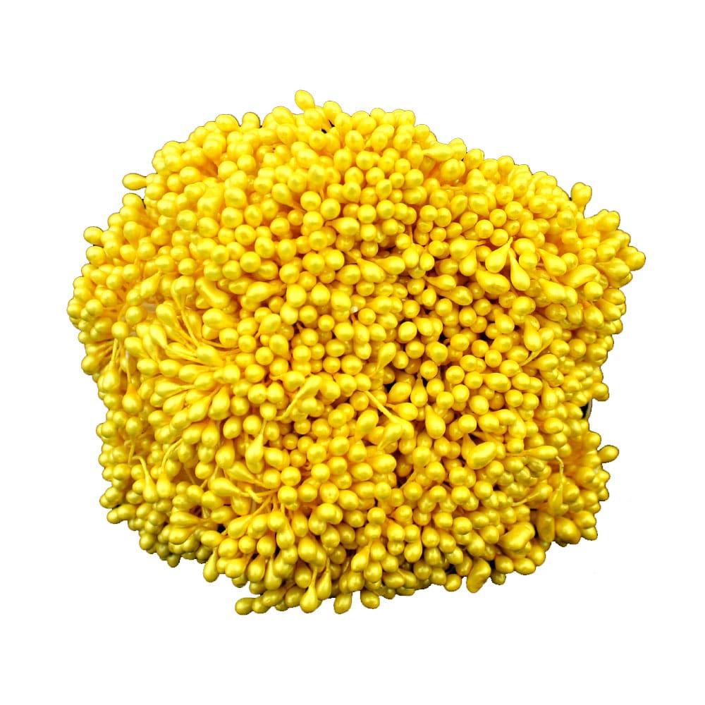 Pack 1700 pistilos amarillo