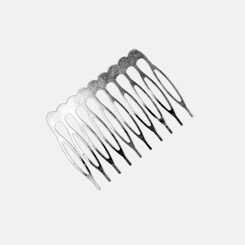 Peina metal 5 cm plata