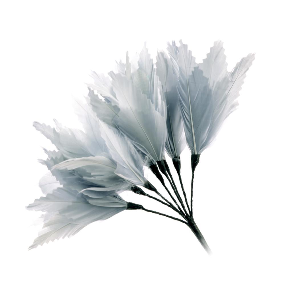 Pomo Hortensia 20 cm gris plata