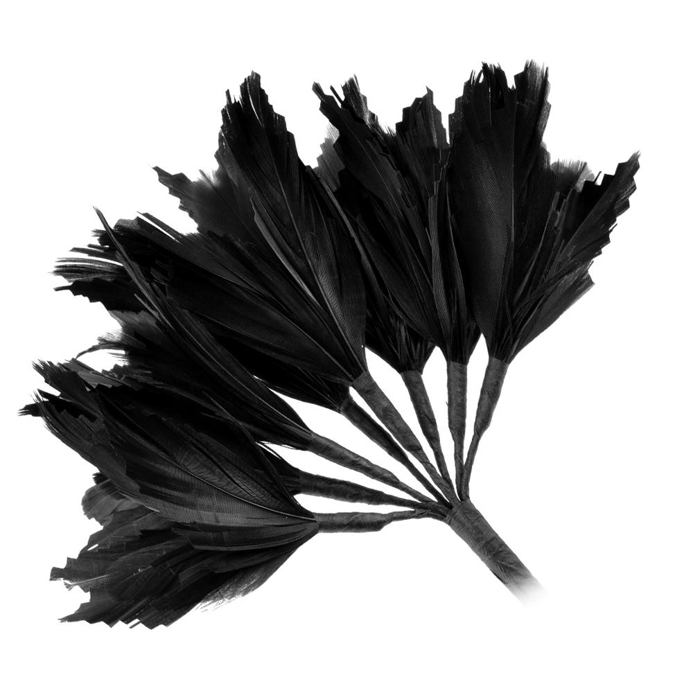 Pomo Hortensia 20 cm negro