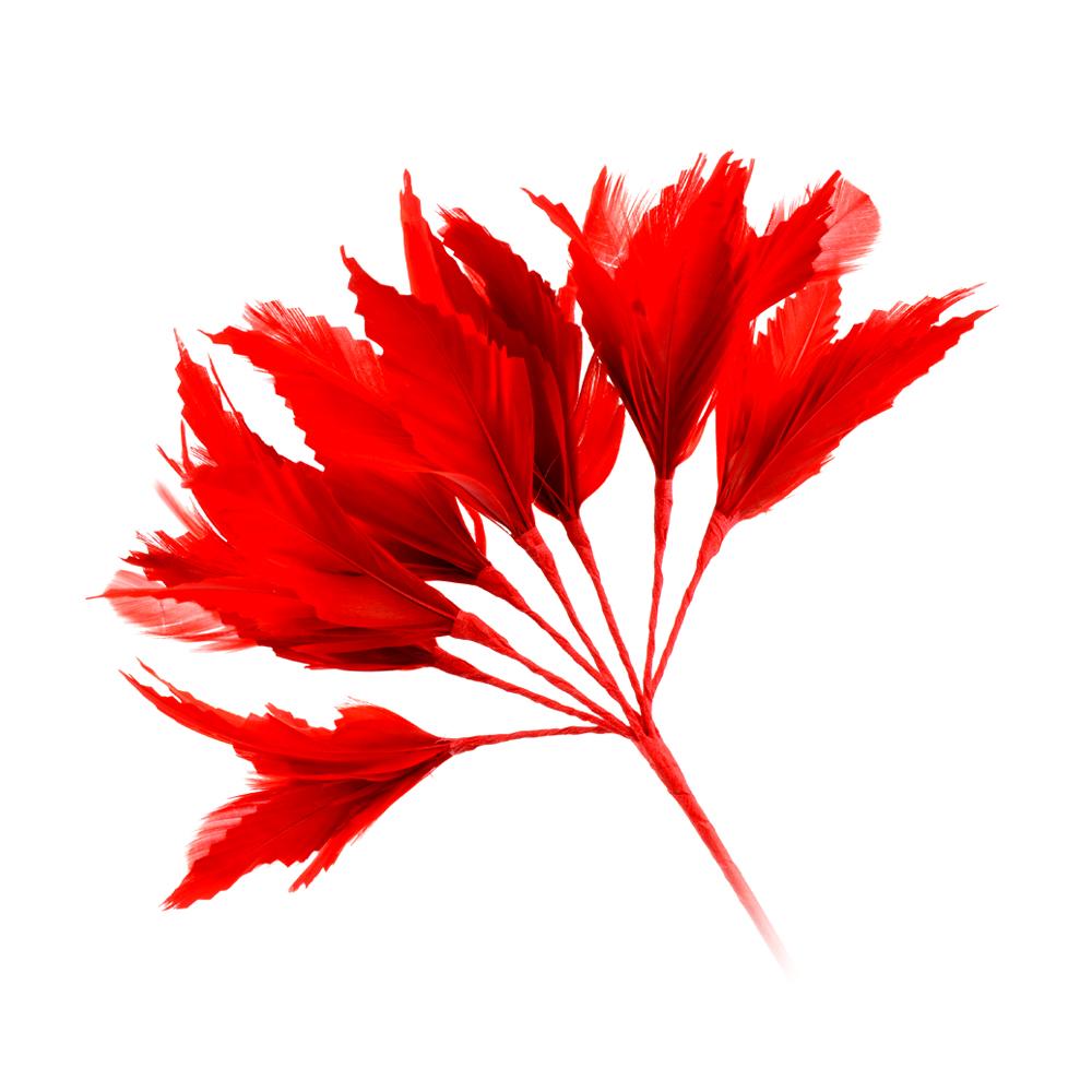 Pomo Hortensia 20 cm rojo
