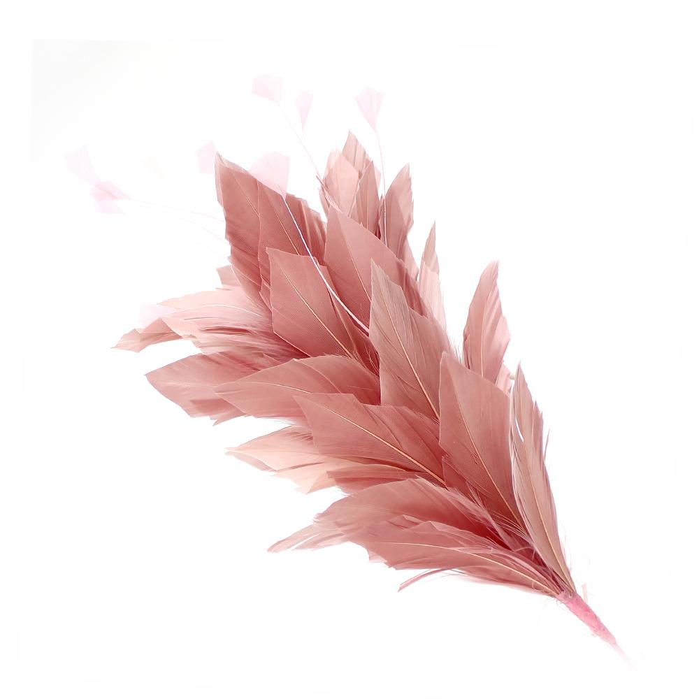 Pomo de plumas Afrodita 20 cm ROSA NUDE