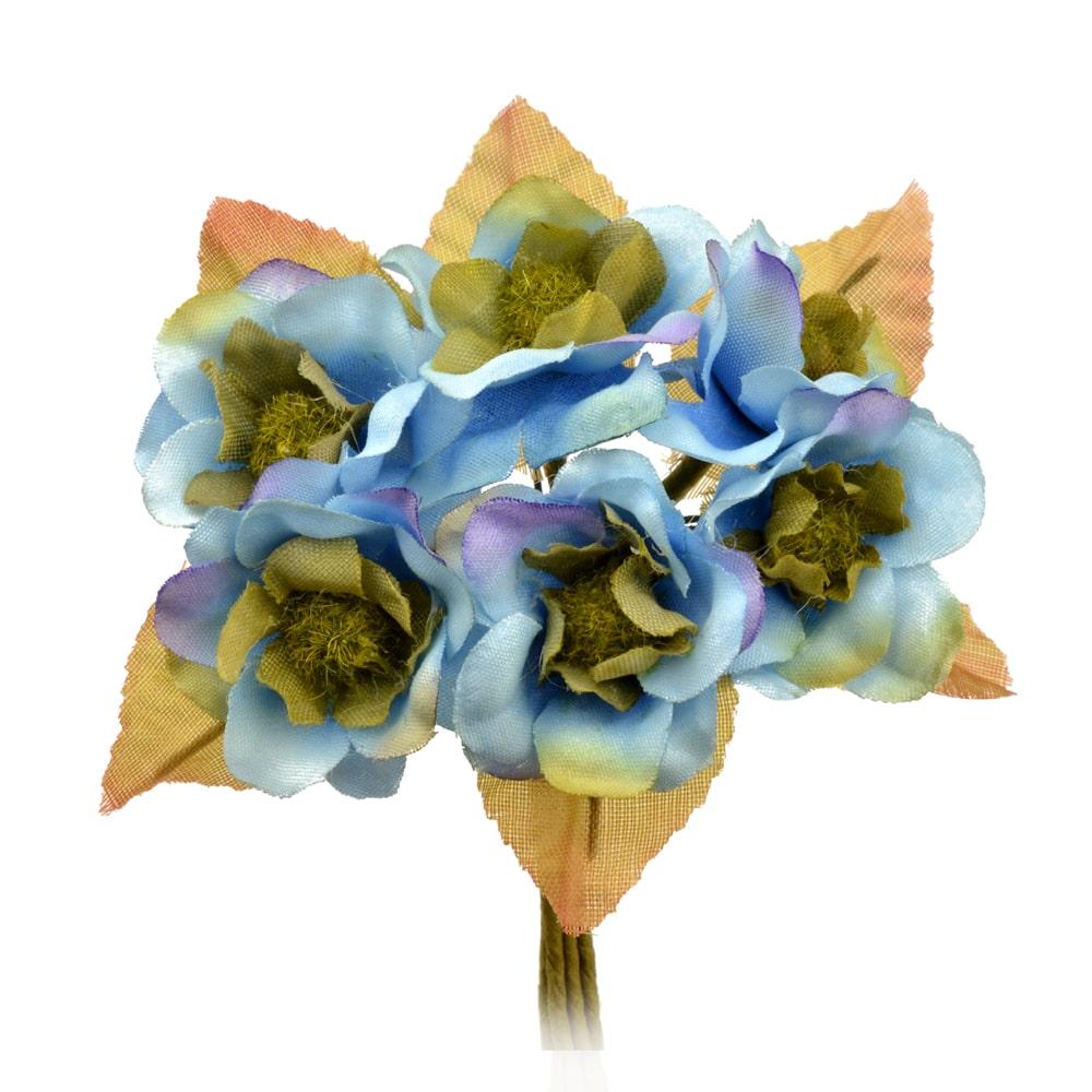 RAMILLETE KAREN azul medio