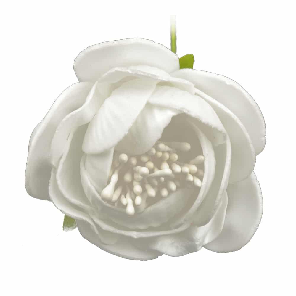 ROSAPOLA 7 cm blanco