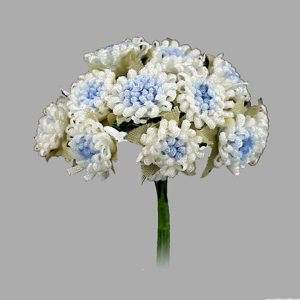 Racimo de florecillas 5cm azul