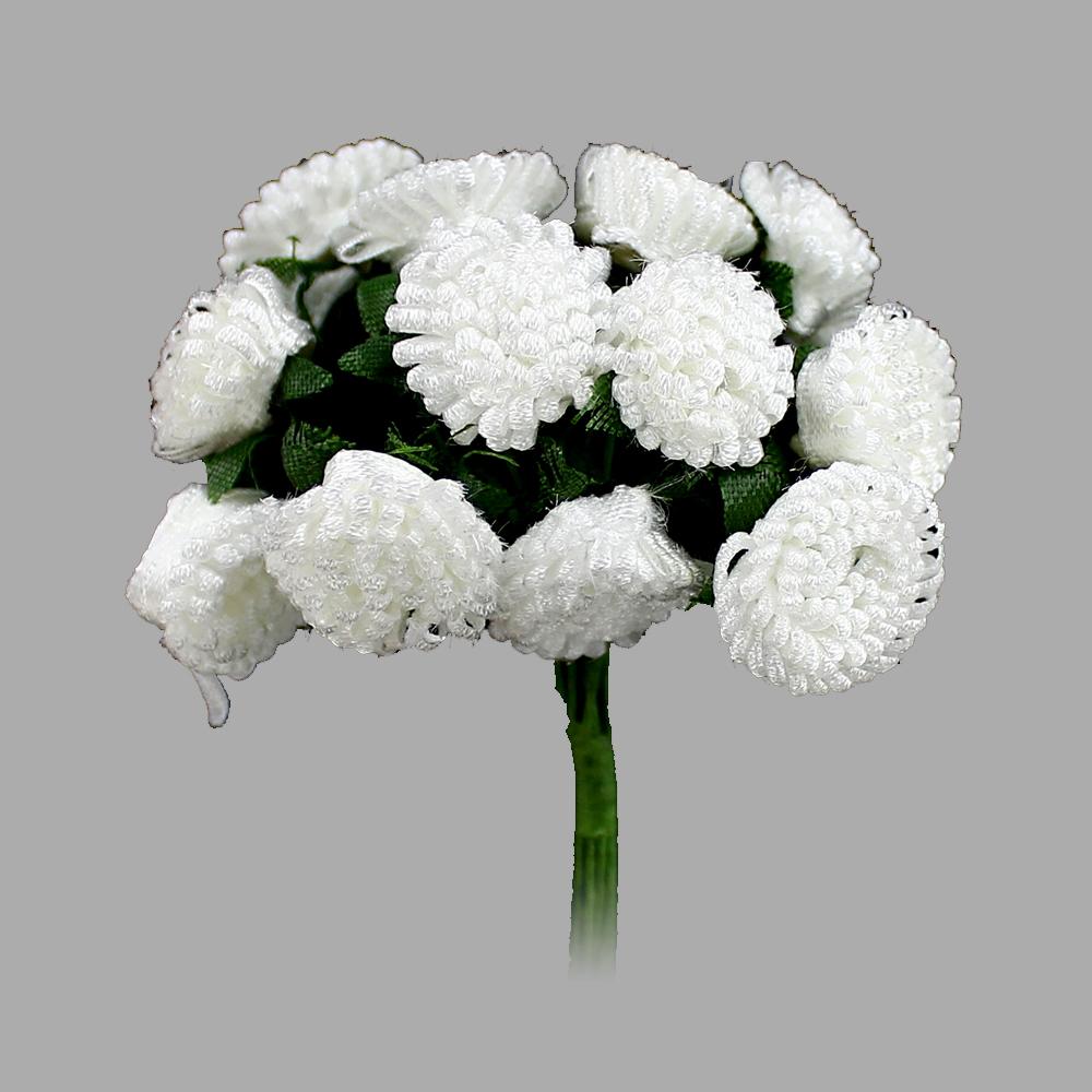 Racimo de florecillas 5cm blanco