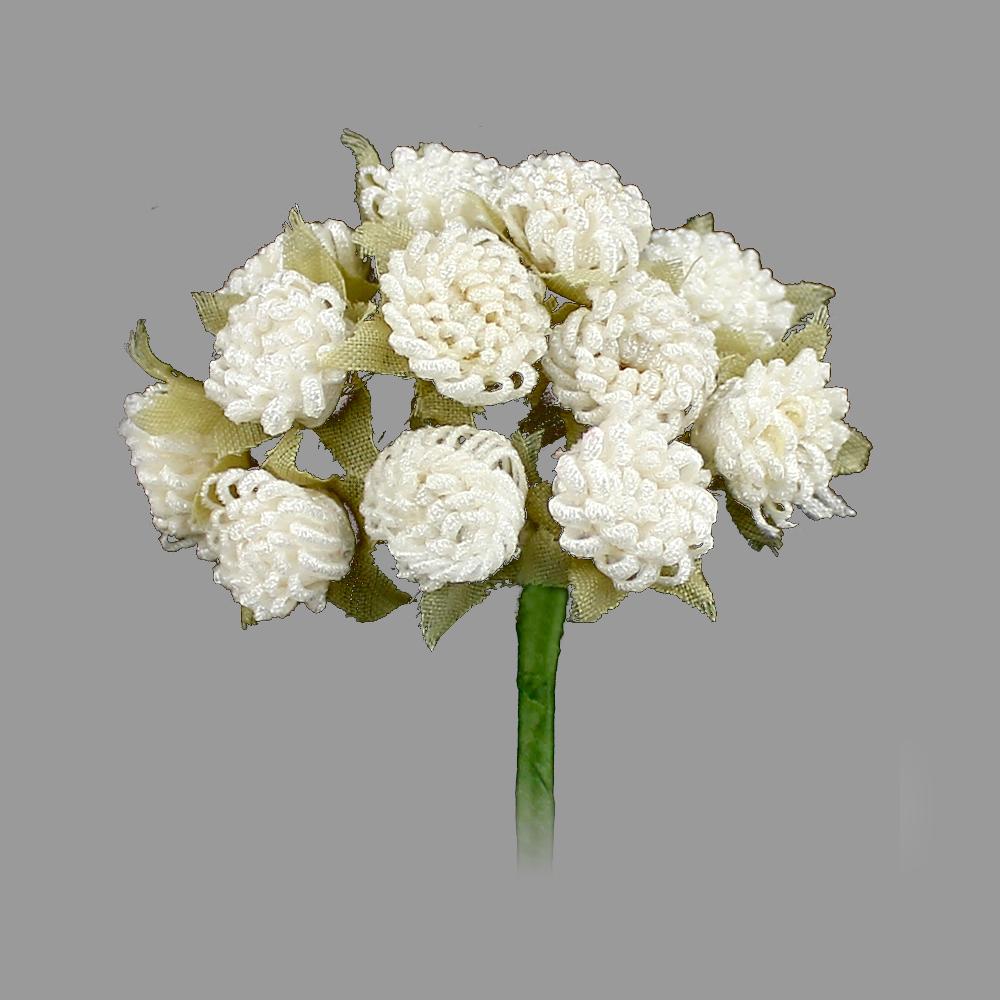 Racimo de florecillas 5cm crudo